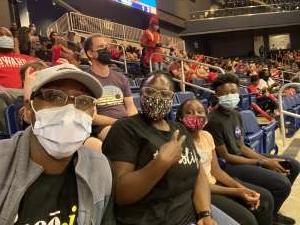 LT Vaughn attended Washington Mystics vs. Dallas Wings - WNBA on Aug 28th 2021 via VetTix