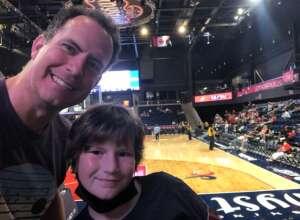 Ben Cipperley attended Washington Mystics vs. Dallas Wings - WNBA on Aug 28th 2021 via VetTix
