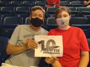 Scott attended Washington Mystics vs. Dallas Wings - WNBA on Aug 28th 2021 via VetTix