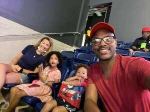 Kevin  attended Washington Mystics vs. Dallas Wings - WNBA on Aug 28th 2021 via VetTix