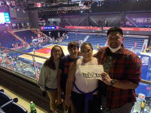 Efren  attended Washington Mystics vs. Dallas Wings - WNBA on Aug 28th 2021 via VetTix