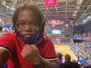Keya attended Washington Mystics vs. Dallas Wings - WNBA on Aug 28th 2021 via VetTix