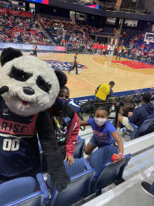 Marlon Madden attended Washington Mystics vs. Dallas Wings - WNBA on Aug 28th 2021 via VetTix