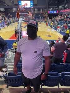 DJ attended Washington Mystics vs. Dallas Wings - WNBA on Aug 28th 2021 via VetTix