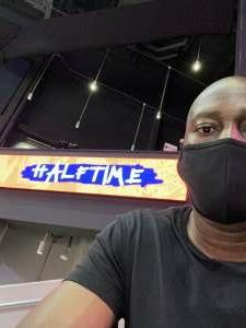 Keef  attended Washington Mystics vs. Dallas Wings - WNBA on Aug 28th 2021 via VetTix