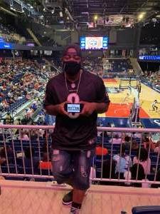Trent  attended Washington Mystics vs. Dallas Wings - WNBA on Aug 28th 2021 via VetTix