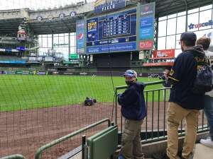Mike Lemke attended Milwaukee Brewers vs. St. Louis Cardinals - MLB on Sep 23rd 2021 via VetTix