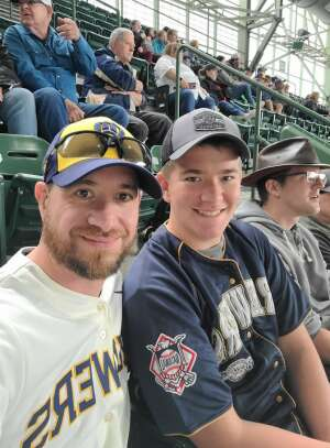 Nick attended Milwaukee Brewers vs. St. Louis Cardinals - MLB on Sep 23rd 2021 via VetTix