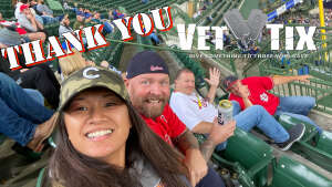 Cherry attended Milwaukee Brewers vs. St. Louis Cardinals - MLB on Sep 23rd 2021 via VetTix