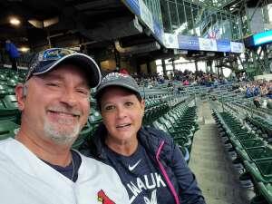 James Hopkins attended Milwaukee Brewers vs. St. Louis Cardinals - MLB on Sep 23rd 2021 via VetTix