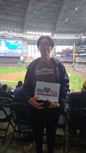 Dean attended Milwaukee Brewers vs. St. Louis Cardinals - MLB on Sep 23rd 2021 via VetTix
