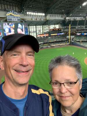 Fountaw attended Milwaukee Brewers vs. St. Louis Cardinals - MLB on Sep 23rd 2021 via VetTix