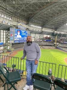 Jose Colon attended Milwaukee Brewers vs. St. Louis Cardinals - MLB on Sep 23rd 2021 via VetTix