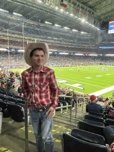 Alf attended Houston Texans vs. Carolina Panthers - NFL on Sep 23rd 2021 via VetTix