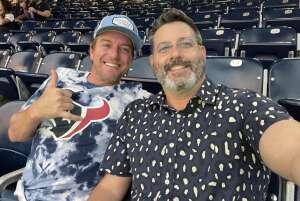 mwh attended Houston Texans vs. Carolina Panthers - NFL on Sep 23rd 2021 via VetTix
