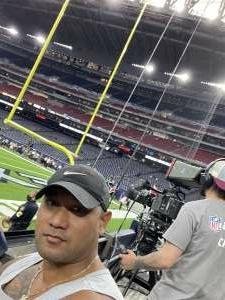 Fou attended Houston Texans vs. Carolina Panthers - NFL on Sep 23rd 2021 via VetTix