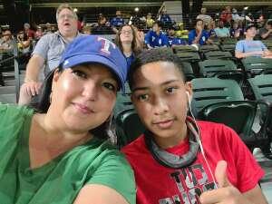 Iris attended Texas Rangers vs. Chicago White Sox - MLB on Sep 18th 2021 via VetTix