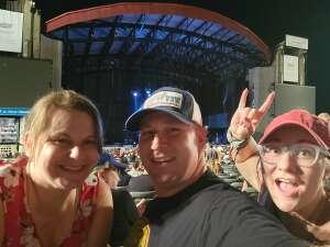 Dan attended 3 Doors Down - the Better Life 20th Anniversary Tour on Aug 19th 2021 via VetTix
