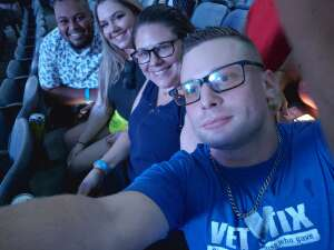Tony attended 3 Doors Down - the Better Life 20th Anniversary Tour on Aug 19th 2021 via VetTix