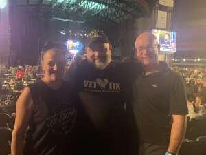 Darrell Sullivan attended 3 Doors Down - the Better Life 20th Anniversary Tour on Aug 19th 2021 via VetTix