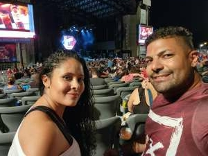 Dave attended 3 Doors Down - the Better Life 20th Anniversary Tour on Aug 19th 2021 via VetTix