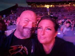 O'B attended 3 Doors Down - the Better Life 20th Anniversary Tour on Aug 19th 2021 via VetTix