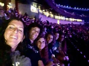JULIA attended Tunnel to Towers Foundation's Never Forget Concert on Aug 21st 2021 via VetTix