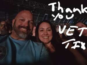 Rich Elsmore attended Tunnel to Towers Foundation's Never Forget Concert on Aug 21st 2021 via VetTix