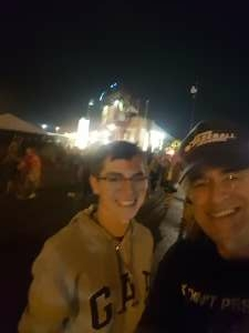 Vin 14SOW attended Tunnel to Towers Foundation's Never Forget Concert on Aug 21st 2021 via VetTix