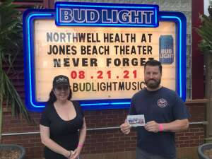 Murrays attended Tunnel to Towers Foundation's Never Forget Concert on Aug 21st 2021 via VetTix