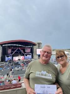Frank attended Tunnel to Towers Foundation's Never Forget Concert on Aug 21st 2021 via VetTix