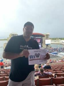 Javier attended Tunnel to Towers Foundation's Never Forget Concert on Aug 21st 2021 via VetTix