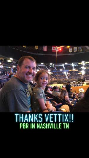 Matt attended PBR Unleash the Beast on Aug 22nd 2021 via VetTix