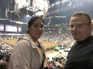 W2 attended PBR Unleash the Beast on Aug 22nd 2021 via VetTix