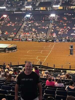 Keith Stepp attended PBR Unleash the Beast on Aug 22nd 2021 via VetTix