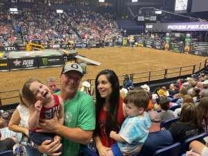 Anthony attended PBR Unleash the Beast on Aug 22nd 2021 via VetTix