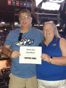 Wally O attended PBR Unleash the Beast on Aug 22nd 2021 via VetTix