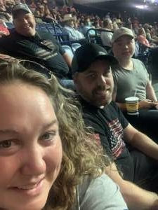 Katie D  attended PBR Unleash the Beast on Aug 22nd 2021 via VetTix