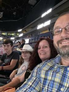 Jc Brown attended PBR Unleash the Beast on Aug 22nd 2021 via VetTix