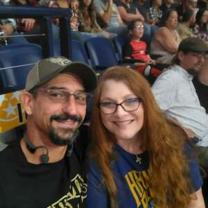 Stroh attended PBR Unleash the Beast on Aug 22nd 2021 via VetTix
