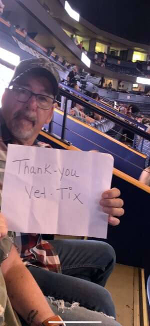 Don R attended PBR Unleash the Beast on Aug 22nd 2021 via VetTix