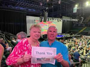 Jim attended Happy Together Tour on Aug 21st 2021 via VetTix