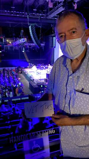 JimS attended Happy Together Tour on Aug 21st 2021 via VetTix