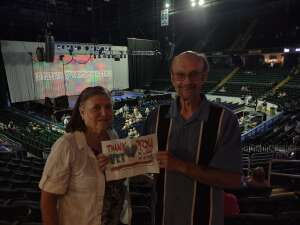 Fred Theis attended Happy Together Tour on Aug 21st 2021 via VetTix