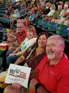William B. attended Happy Together Tour on Aug 21st 2021 via VetTix