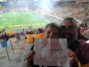 Click To Read More Feedback from Arizona State Sun Devils vs. Colorado Buffaloes - NCAA Football