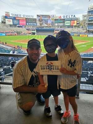 Peter attended New York Yankees vs. Boston Red Sox - MLB on Aug 17th 2021 via VetTix