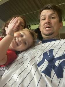Jesse Marvin attended New York Yankees vs. Boston Red Sox - MLB on Aug 17th 2021 via VetTix