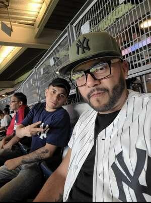 Brandon attended New York Yankees vs. Boston Red Sox - MLB on Aug 17th 2021 via VetTix