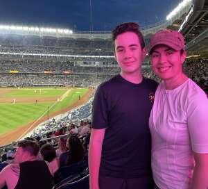 Yadi attended New York Yankees vs. Boston Red Sox - MLB on Aug 17th 2021 via VetTix